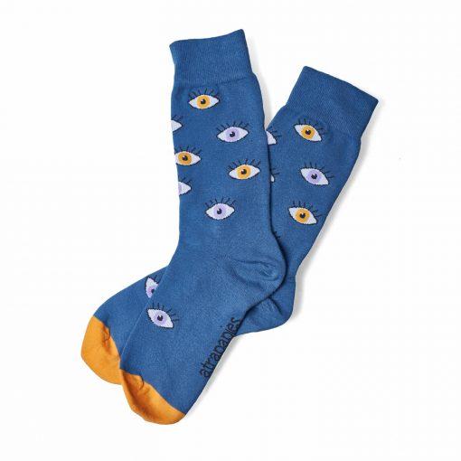 Calcetines ojos calcetines ecológicos