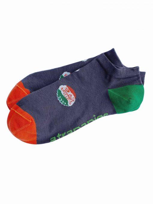 calcetines tobilleros modelo chapas atrapapies