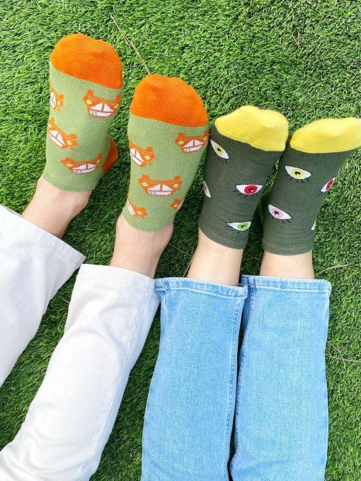Calcetines sin costuras