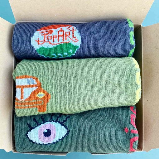 Atmosfera pack calcetines tobillero detalle
