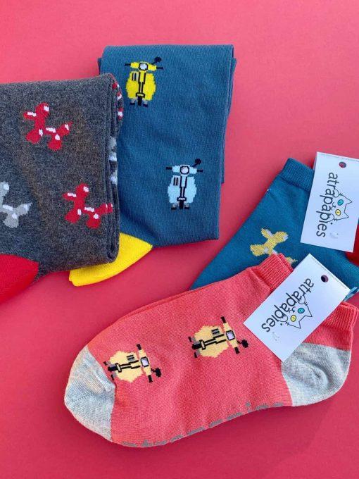 biodiversidad pack 4 calcetines