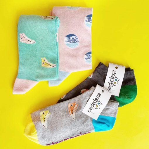 EQUIIBRIO pack 4 calcetines