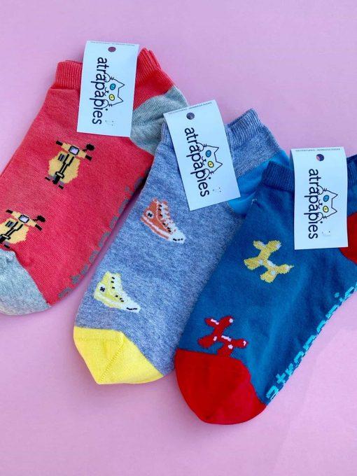 Oceanos 3 pack calcetines tobillero