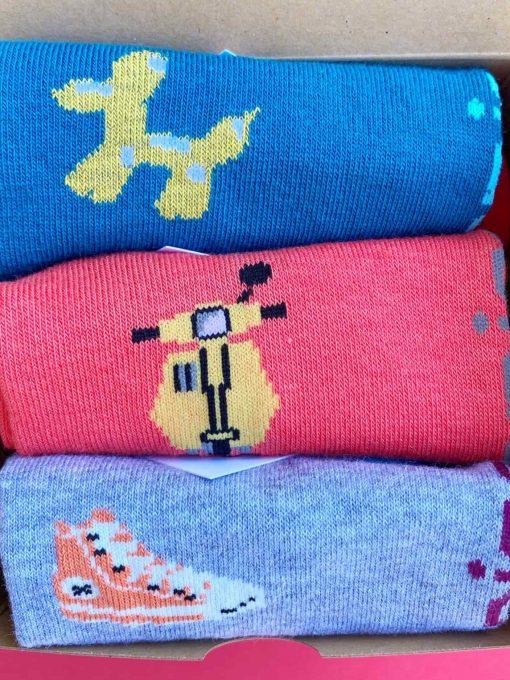 Oceanos pack calcetines tobillero detalle