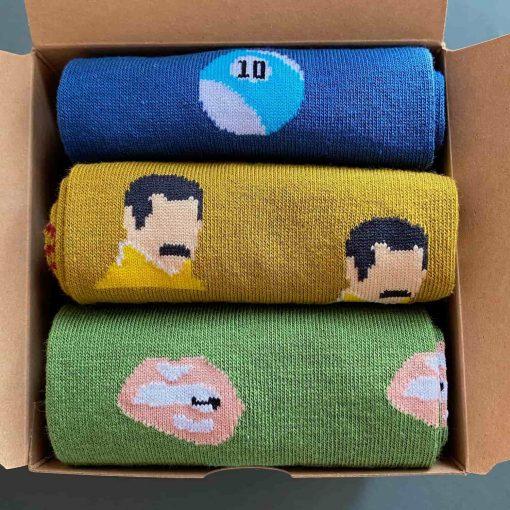 Tierra - pack 3 calcetines caña alta